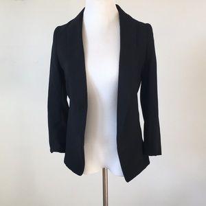 BNWT H&M Black women's blazer size 2